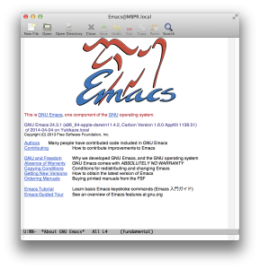 Emacs Mac Port