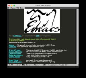 emacs 24.4